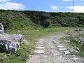 Quarry tramroad, Isle of Portland - geograph.org.uk - 942686.jpg
