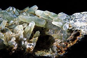 Prasiolite - Image: Quartz Prase