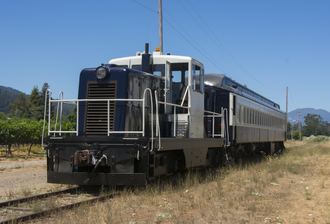 Napa Valley Wine Train - The Quattro Vino, a train to four wineries introduced in 2016