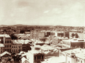 Queensland State Archives 2291 View of Brisbane from chimney of Bartons Electric Works and vicinity of Adelaide Street towards Treasury Building c 1897.png