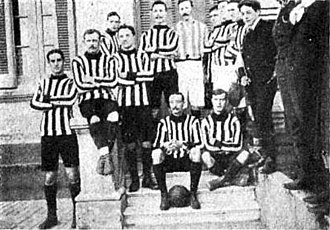 Quilmes Atlético Club - The Quilmes A.C. squad that played South Africa in 1906