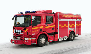 Fire engine Emergency vehicle intended to put out fires