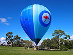 RAAF balloon VH-LVD at the 2013 AWM open day.jpg
