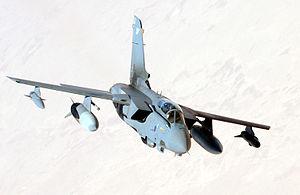 English: An Royal Air Force Panavia Tornado GR...