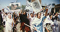RAWA protest rally against Taliban in Peshawar April28-1998.jpg