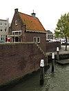 foto van Brugwachtershuisje bij Leuvebrug