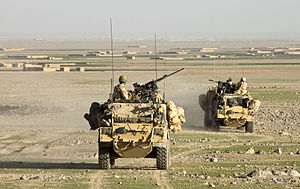 Royal Scots Dragoon Guards - Jackal Vehicles in use with the Royal Scots Dragoon Guards
