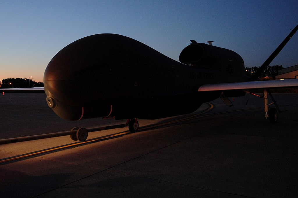 RQ-4 on the flight line at Grand Forks.jpg