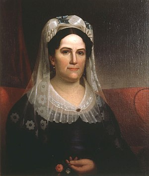 English: Portrait of Rachel Donelson Jackson, ...