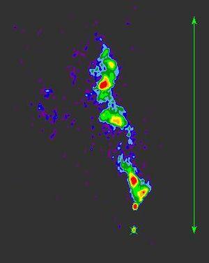 3C 48 - Image: Radio map of quasar 3C48