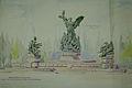 Raffaello Romanelli - Proiect pentru o fântână monumentală.jpg