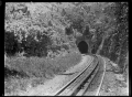 Railway tunnel at the summit of the Rimutaka Hill, 1908 ATLIB 272927.png