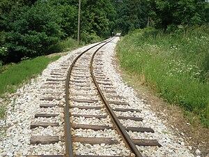Narrow-gauge railways in the Czech Republic - Image: Railwaynb