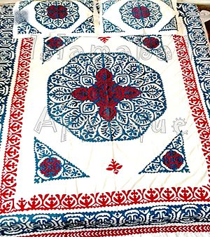 Ralli quilt - Ralli Applique Bed cover