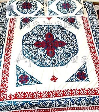 Ralli quilt - Ralli Applique Bed cover