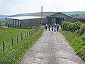 Rambling club approaching High Wiserley - geograph.org.uk - 452394.jpg