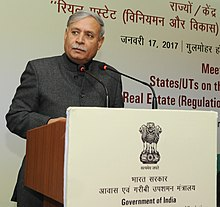 "Rao Inderjit Singh addressing at the Meeting with the StatesUTs on the Implementation of ""The Real Estate (Regulation and Development) Act, 2016"", in New Delhi.jpg"