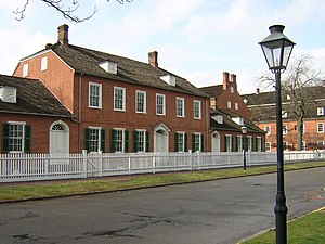 Ambridge, Pennsylvania - The Rapp House in Old Economy Village