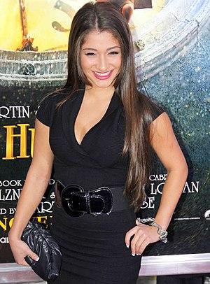 Raquel Castro - Castro at the Hugo premiere in New York City on November 21,  2011.