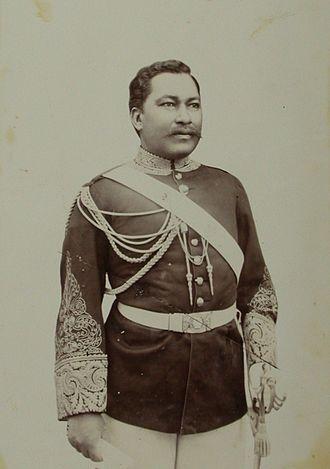 Prime Minister of Madagascar - Image: Rasanjy, ca. 1890