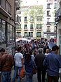 Rastro de Madrid, multitud, España, 2015.jpg