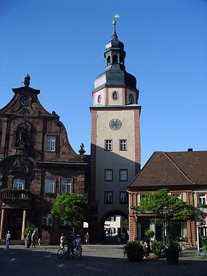 Ettlingen - Image: Rathausturm Ettlingen