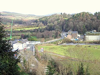 Rathdrum, County Wicklow - Rathdrum; R752 crossing the Avonmore River