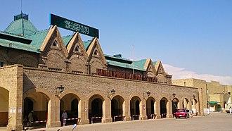 Rawalpindi - Image: Rawalpindi railway station 4