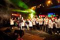 Recital gratuito de Axel Fernando en la Fiesta del Bicentenario de Carmen de Areco junto a alumnos de la Escuela 501.jpg