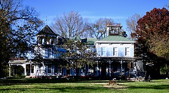 National Register of Historic Places listings in Chariton County, Missouri - Image: Redding Hill House