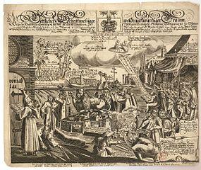 1617 Reformation centenary broadsheet