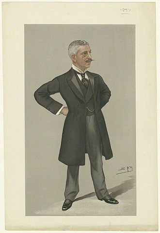 Reginald Wingate - Wingate caracitured by Spy for Vanity Fair, 1897