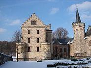 Reinhardsbrunn Schloss Winter