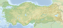 Relief Map: Turkey