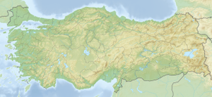 Çiyayên Şerevdînê is located in Tirkiye