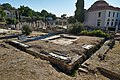 Remains of the public toilets (latrinae) in the Roman Agora of Athens on July 9, 2020.jpg