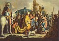 5 / David mit Goliaths Haupt vor Saul