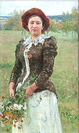 И.Е.Репин. «Осенний букет». 1892