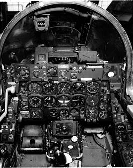 Republic F-84F front instrument panel.jpg