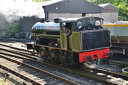 Repulse at Haverthwaite railway station (6581).jpg