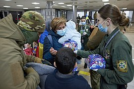 Returning of Ukrainian women and children from Syrian refugee camp 07.jpg