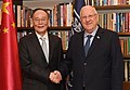 Reuven Rivlin meeting with Wang Qishan, October 2018 (7394).jpg