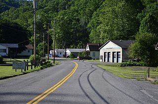 Rhodell, West Virginia Unincorporated community in West Virginia, United States