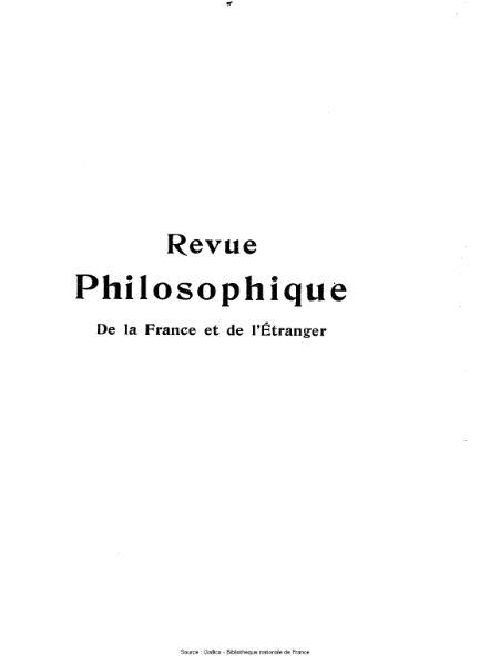 File:Ribot - Revue philosophique de la France et de l'étranger, tome 77.djvu