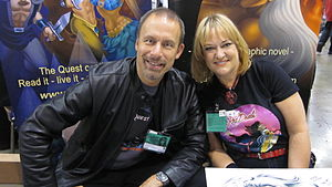 Richard and Wendy Pini at FanimeCon 2010 in Sa...