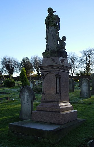 Aldershot Cemetery - Image: Richard Eve Grave