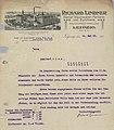 Richard Lindner, Dampf Rauchwaren-Färberei und Zurichterei, Rauchwaren-Handlung, Leipzig (Schreiben 14. Mai 1929).jpg