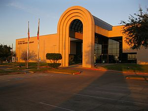 Fort Bend County Libraries - George Memorial Library in Richmond, Texas