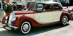 1951 ライレー RMB Riley RMB 2½-Litre 4-Door Saloon 1950