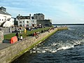 River Corrib from Wolfe Tone Bridge, Galway - geograph.org.uk - 102442.jpg